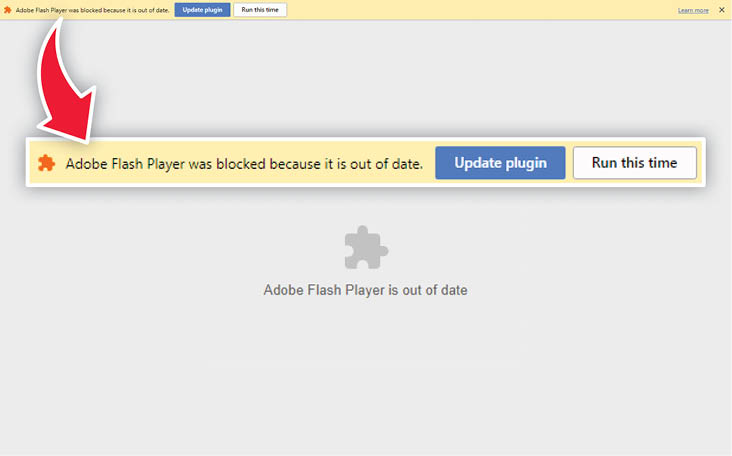 adobe flash player google chrome windows 8.1