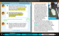 click to enlarge/reduce i-Ready Close Reading lesson